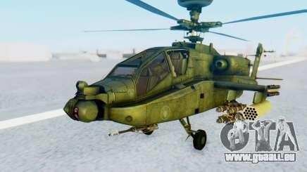 AH-64 Apache pour GTA San Andreas