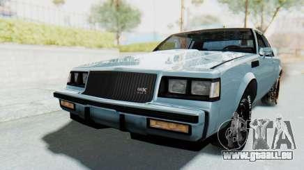 Buick GNX 1987 für GTA San Andreas