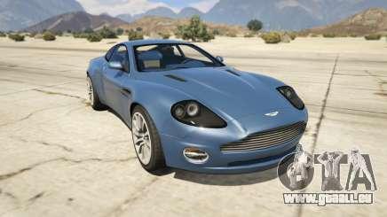 2001 Aston Martin V12 Vanquish pour GTA 5