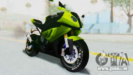BMW S1000RR HP4 Modification pour GTA San Andreas