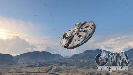 Star Wars Millenium Falcon 5.0 pour GTA 5