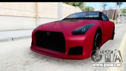 Nissan GT-R R35 Top Speed für GTA San Andreas