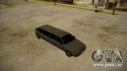 VAZ 2114 Dévastateur HQ modèle pour GTA San Andreas