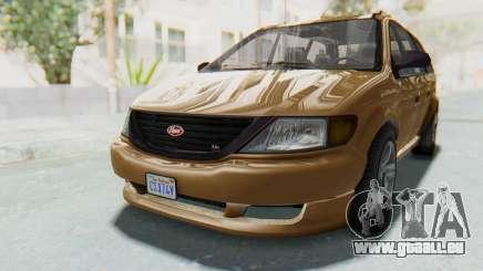 GTA 5 Vapid Minivan für GTA San Andreas