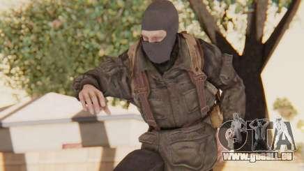 COD BO Russian Soldier Balaclava pour GTA San Andreas