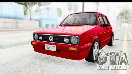 Volkswagen Golf Citi 1.8 1998 pour GTA San Andreas
