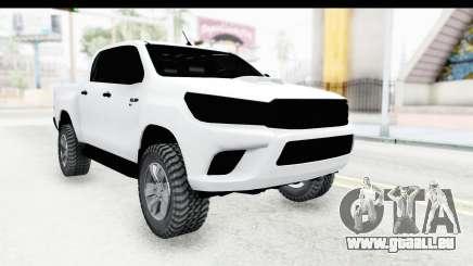 Toyota Hilux 2016 pour GTA San Andreas