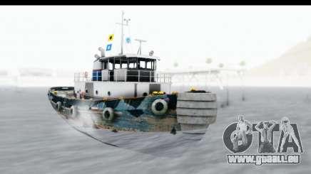 GTA 5 Buckingham Tug Boat v1 für GTA San Andreas