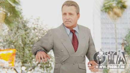 Mafia 2 - Tommy Angelo Boss White Suit für GTA San Andreas