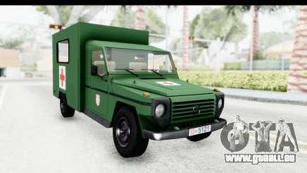 Mercedes-Benz Wolf Vojno Ambulantno Vozilo für GTA San Andreas