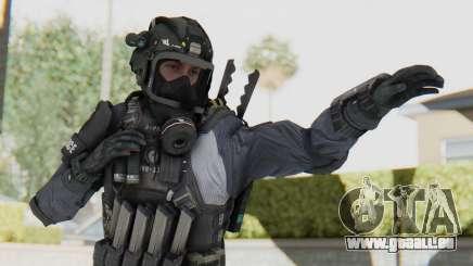 Federation Elite SMG Original pour GTA San Andreas