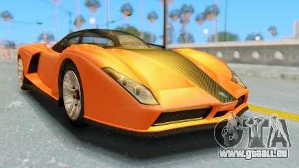 GTA 5 Grotti Cheetah IVF für GTA San Andreas