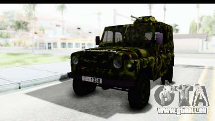 UAZ-469 de la police Militaire de la Serbie pour GTA San Andreas