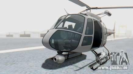 GTA 5 News Chopper Style Weazel News pour GTA San Andreas