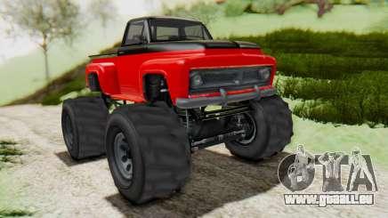GTA 5 Vapid Slamvan XL v2.1 pour GTA San Andreas
