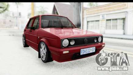 Volkswagen Golf VeloCiti 2008 Updated für GTA San Andreas
