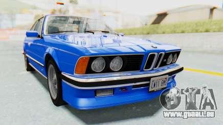 BMW M635 CSi (E24) 1984 HQLM PJ1 pour GTA San Andreas
