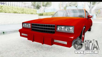 Chevrolet Monte Carlo Breaking Bad pour GTA San Andreas