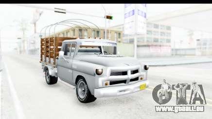 Chevrolet 3100 Diesel v1 für GTA San Andreas