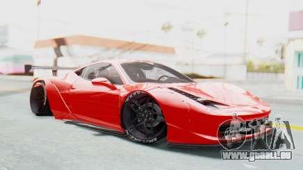 Ferrari 458 Liberty Walk pour GTA San Andreas
