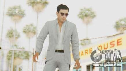 Mafia 2 - Vito Scaletta Madman Suit White pour GTA San Andreas