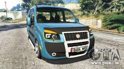 Fiat Doblo pour GTA 5