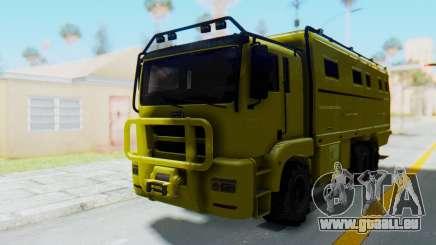 GTA 5 HVY Brickade für GTA San Andreas