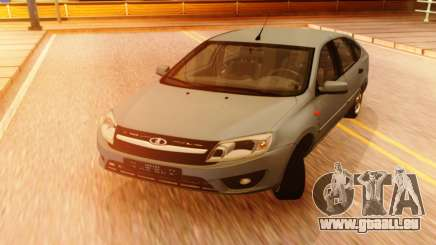 Lada Granta Liftback Beta v1 pour GTA San Andreas