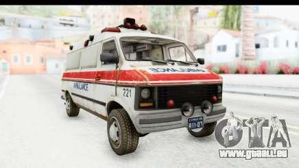 MGSV Phantom Pain Ambulance für GTA San Andreas