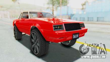 GTA 5 Willard Faction Custom Donk v2 IVF pour GTA San Andreas