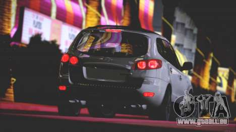 Hyundai Santa Fe Stock für GTA San Andreas obere Ansicht