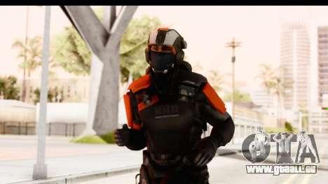 Homefront The Revolution - KPA v3 Black für GTA San Andreas