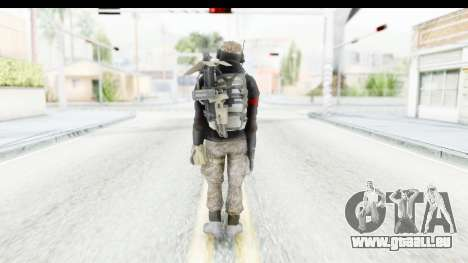 The Division Last Man Battalion - Engineer für GTA San Andreas dritten Screenshot