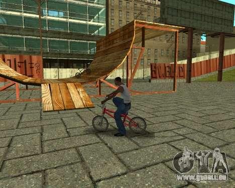 New HD Glen Park pour GTA San Andreas huitième écran