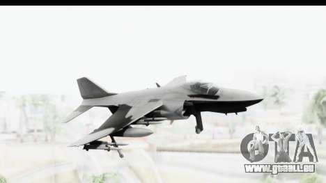 MGSV Phantom Pain Hydra v2 für GTA San Andreas zurück linke Ansicht