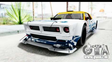 GTA 5 Declasse Drift Tampa pour GTA San Andreas vue de dessus