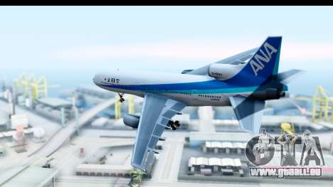 Lockheed L-1011-100 TriStar All Nippon Airways für GTA San Andreas linke Ansicht
