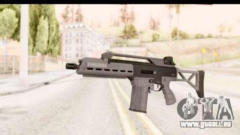 GTA 5 Vom Feuer Special Carbine für GTA San Andreas
