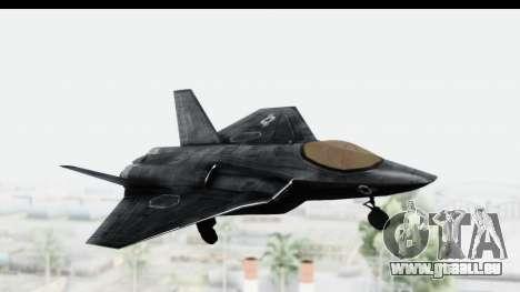 CoD Black Ops 2 - FA-38 für GTA San Andreas zurück linke Ansicht