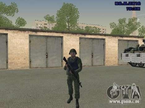 Le conducteur de la MIA pour GTA San Andreas quatrième écran