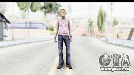 Silent Hill 3 - Heather Sporty Light Pink HK pour GTA San Andreas deuxième écran