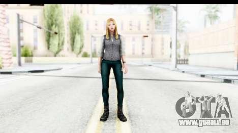 Marvel Future Fight - Sharon Carter (Civil War) für GTA San Andreas zweiten Screenshot