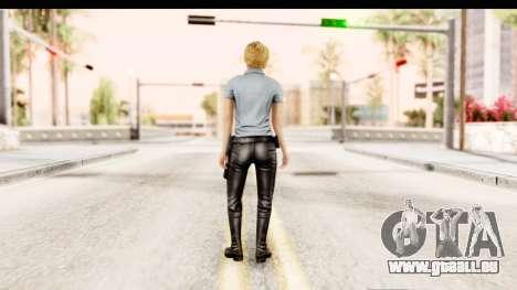 Silent Hill Shattered Memories - Cybil pour GTA San Andreas troisième écran