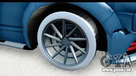 Volkswagen Caravelle für GTA San Andreas Rückansicht