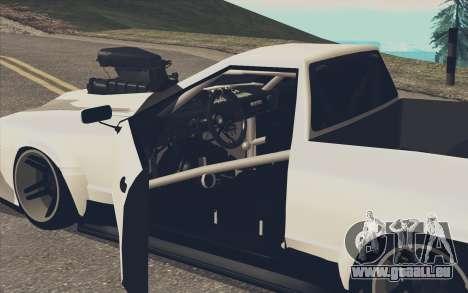 Elegy Ibragim für GTA San Andreas linke Ansicht