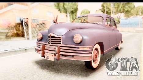 Packard Standart Eight 1948 Touring Sedan pour GTA San Andreas vue de droite