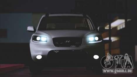 Hyundai Santa Fe Stock für GTA San Andreas linke Ansicht