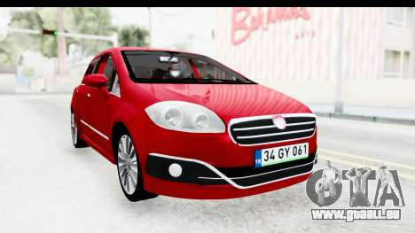 Fiat Linea 2015 v2 für GTA San Andreas