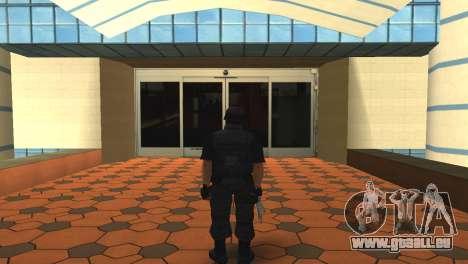 Modifizierte original SWAT skin für GTA San Andreas zweiten Screenshot