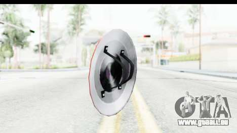 Capitan America Shield Classic pour GTA San Andreas deuxième écran